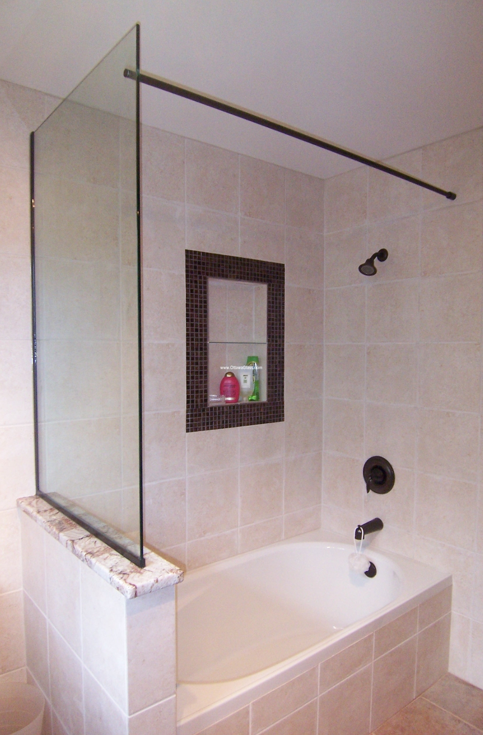 Ottawa Glass - Shower Hardware - Pictures